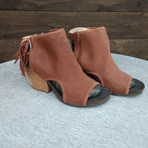 Free Spirit Boho Western Leather Fringe Sandal